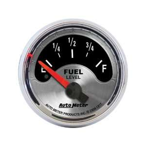 Auto Meter 1217 American Muscle 2 1/16 Short Sweep Electric Fuel