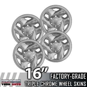 2001 2004 Toyota Prerunner 16 Chrome Wheel Skins