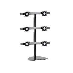 SUPER PCTM Six (6) LCD Multi Monitor Stand (Supports up