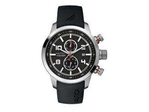 Nautica Chronograph NCT 400 Black Dial Mens watch #N17579G