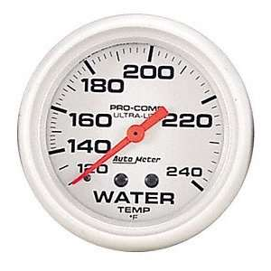 Auto Meter 4333 Ultra Lite Mechanical Water Temperature