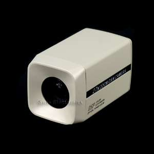 420TVL 1/4 Sony Super HAD CCD Color Box Camera 27 X Optical Zoom
