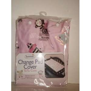Summer Infant Change Pad Cover Tu Tu Cute Ballerina Baby