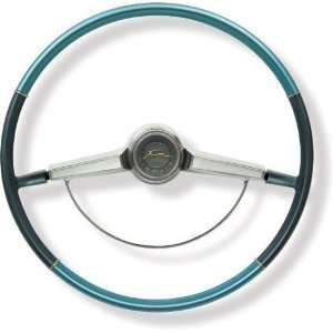 New Chevy Impala Steering Wheel   Blue 65 66 Automotive