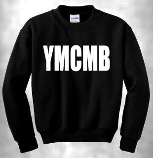 YMCMB CREWNECK MONEY WAYNE YOUNG WEEZY LIL RAP NEW HIP HOP