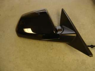 08 09 Cadillac CTS CTS V RH Black Electric Door Mirror
