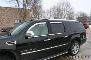 2007   2011 Cadillac Escalade Chrome Window Vent Visors