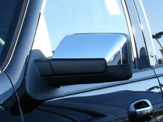2007 2011 FORD EXPEDITION CHROME MIRROR COVERS By TFP