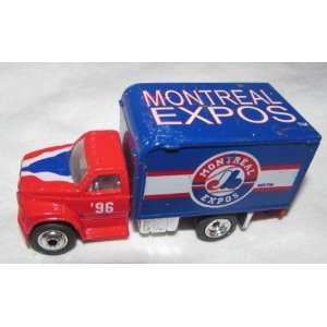 Montreal Expos 1996 Matchbox Truck 1/64 Scale Diecast Car MLB