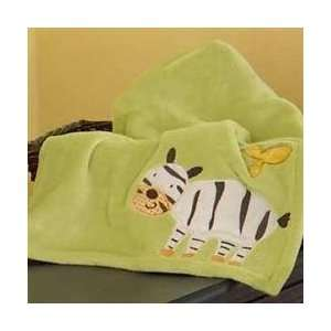 CoCo & Company by Cocalo Jungle Talk Sherpa Blanket Baby