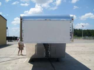 Gooseneck Enclosed Cargo Trailer Car Auto Hauler  8 36 8.5
