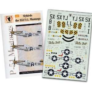 of 353 Fighter Group #3 Willit Run? (1/48 decals) Toys & Games