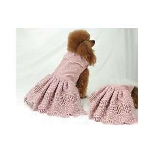 Emma Rose Candlelight Swarovski Crystal Scattered Designer Dog Dress