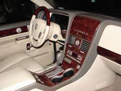 Lincoln LS 01 02 Wood Grain Decal Parts