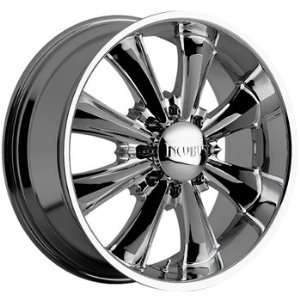 Akuza Game Over 20x9.5 Chrome Wheel / Rim 8x6.5 with a 10mm Offset and