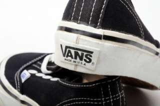 Vans VINTAGE AUTHENTIC Boys Shoes 44 47 4004 Made in US