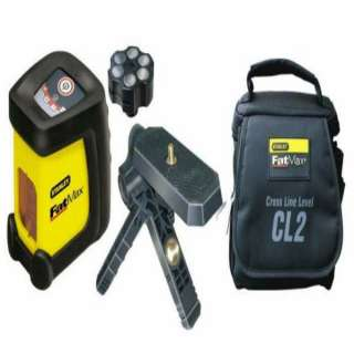 Stanley FatMax CL2 Self Leveling Cross Line Laser Level + Case & Stand