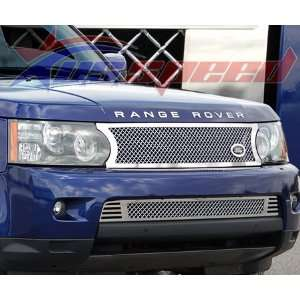 2010 UP Range Rover Sport Chrome Heavy Mesh Grille 2PC   E