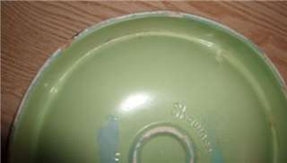 SHAWNEE ART DECO BULLSEYE COTTAGE GREEN ASHTRAY