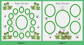 FROG FROGGY BABY NURSERY WALL ART STICKERS DECALS DECOR