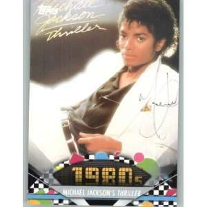 2011 American Pie #144 Michael Jacksons Thriller   A