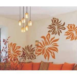 Easy instant decoration wall sticker decor Bloom in richness Baby