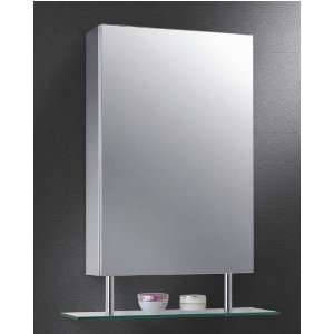 Ketcham 1526 SH S.S Polished Edge Mirror Medicine Cabinet
