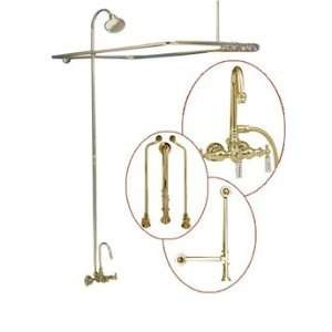 Strom Plumbing Tub Wall Mounted Shower Enclosure SHOWERSET