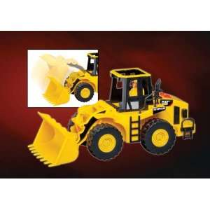 Cat Wheel Loader W/LIGHT & Sound W/FIGURE