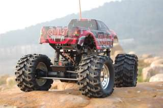 Electric RC Monster Truck 4WD 1/10 Car GROUND POUNDER