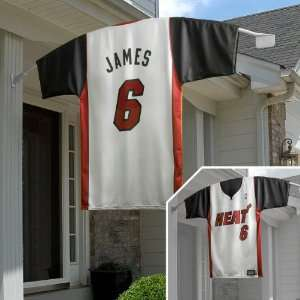Big Time Jersey Miami Heat Lebron James Home Jersey Flag