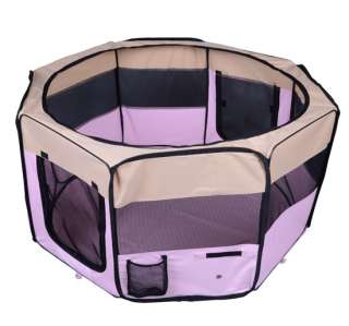 49.2 Large Puppy Pet Playpen Portable Dog Cat Pet Play Pen Cage