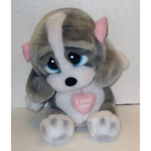 12 Sad Honey Dog; Talking Plush Stuffed Toy Doll
