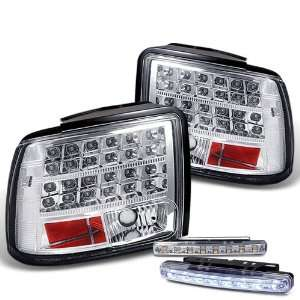 Eautolight 99 04 Ford Mustang LED Tail Lights Lamps + LED