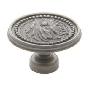 Baldwin 4931151 Solid Brass Antique Nickel Knobs Cabinet