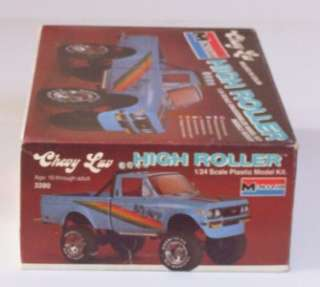 CHEVY LUV 4x4 Truck LIFTED HIGH ROLLER Monogram 124 Pickup Kit Model