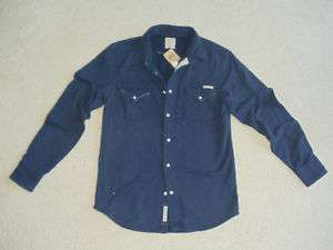 NWT LUCKY BRAND NAVY BUTTON DOWN MENS SWEATERS SZ S, M
