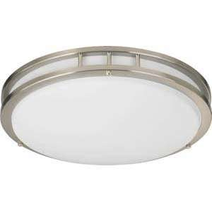 Quorum International 87216 2 65 Nickel Flush Mount