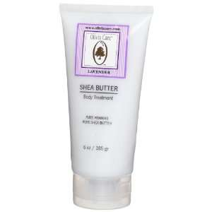 Olivia Care Shea Butter Body Lotion , Lavender, 6 Ounce Tubes (Pack