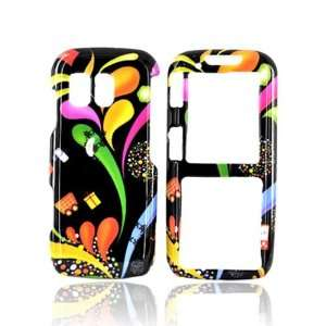 Samsung Rant M540 Hard Case Cover Colorful Paint BLACK
