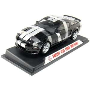 Shelby Collectibles 2006 Ford Shelby CS6 118 Scale (Black/Silver