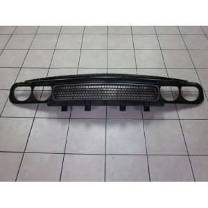 2011 DODGE CHALLENGER BLACK CHROME GRILLE TRIM MOPAR