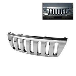 99 04 Jeep Grand Cherokee Chrome Front Grille Automotive