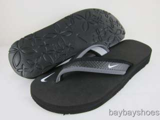 NIKE CELSO THONG BLACK/GRAY SANDALS WOMENS ALL SIZES