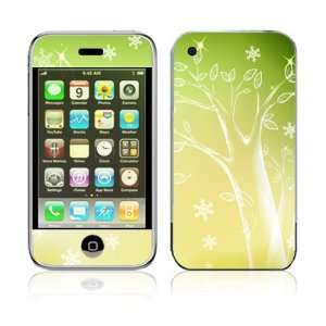 Apple iPhone 2G Vinyl Decal Sticker Skin   Crystal Tree
