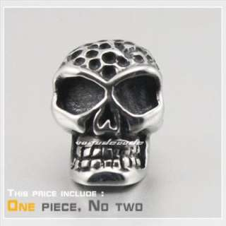 COOL Skull 316L Stainless Steel Mens Stud Earring G012