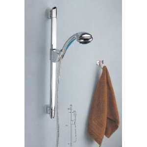 Single Handle Wall Mount Rain Shower Faucet ,Chrome