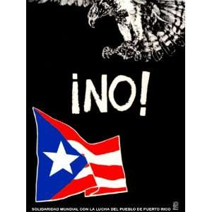 Poster. Day of World Solidarity with the People of PUERTO RICO