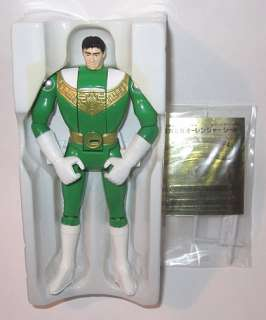1995 Bandai Power Rangers Zeo Green Ranger Japanese Boxed