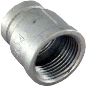 Coupling 1.5 Female 304 Stainless Steel Pipe Fitting NPT